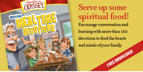 whits end mealtime devotions adventures in odyssey