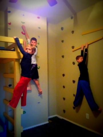 How to Build an Indoor Rock Climbing Wall
