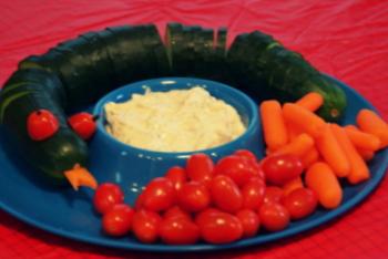 LEGO Ninjago Birthday Party Food and Snacks