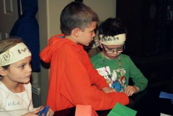 Throw a LEGO Ninjago Birthday Party! how to make ninja stars