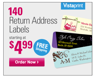 What Vistaprint Coupons and Deals Exist?