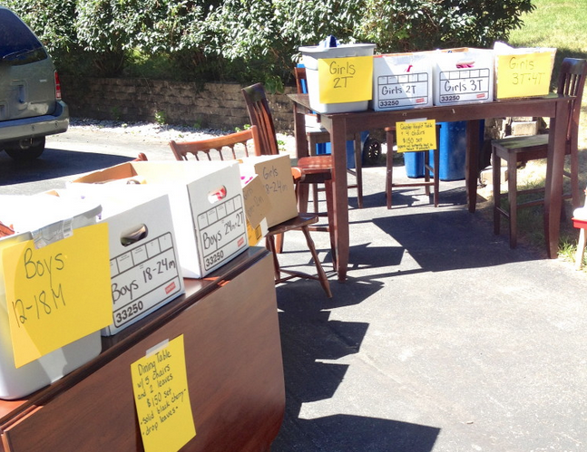 how to have a successful garage sale tips make money