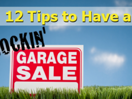 make more money at garage sale