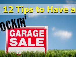 successful garage sale make money