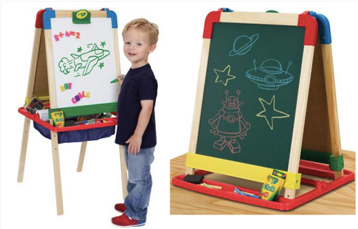 Hot Walmart Crayola 3 In 1 Magnetic Wood Easel Only 15