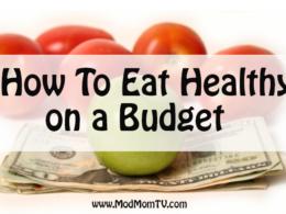 eat healthy on budget save organics