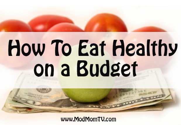 eat healthy on budget save organics