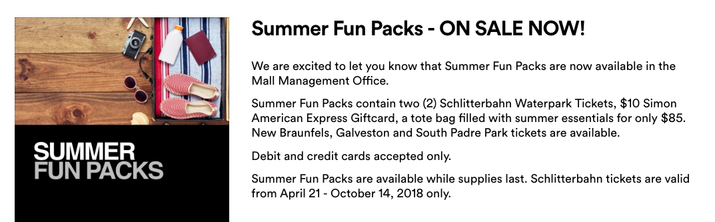 Schlitterbahn Summer Discount Tickets