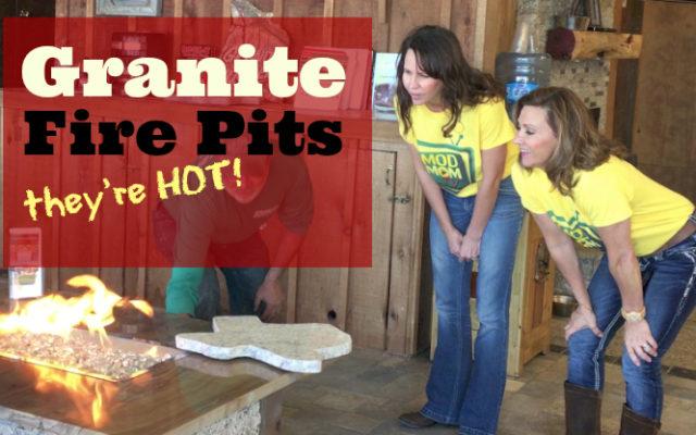 granite pavers fire pit