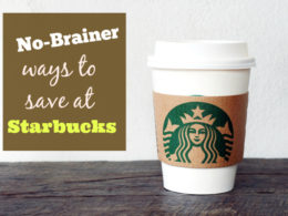 ways to save money at starbucks hacks