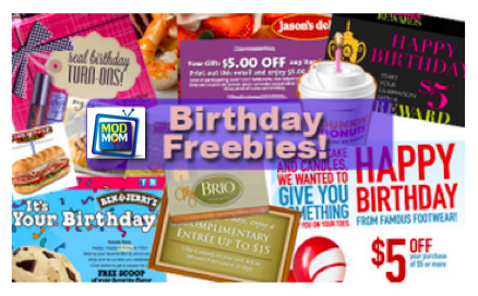 what to get for free on birthday