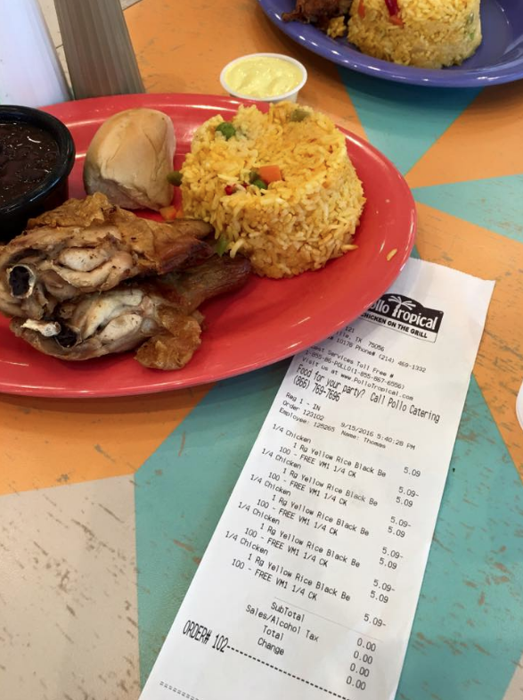picture about Pollo Tropical Printable Coupons named Pollo Tropical: Free of charge Quarter-Fowl Evening meal w/ Compeor
