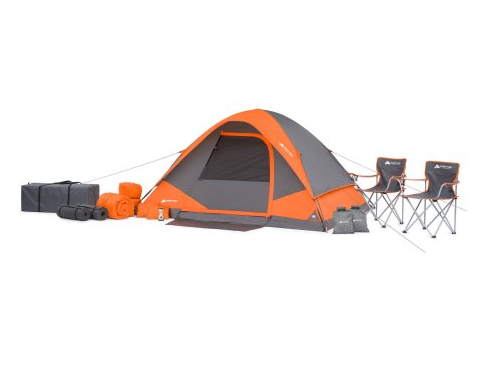 Walmart Ozark Trail 22 Piece Camping Combo Set Only 99