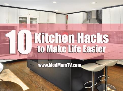 kitchen hacks tips