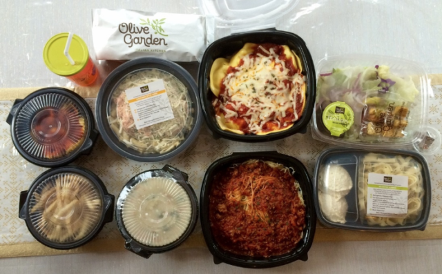 Hot olive garden pay 26 for four entrees two soups - Buy one take one olive garden 2017 ...