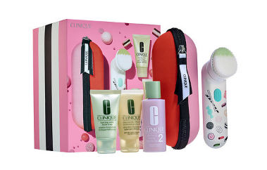 Clinique Sonic Cleansing Brush Set only $59.50 Shipped! - ModMomTV