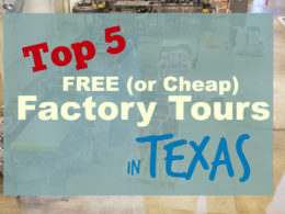 texas factory tours free