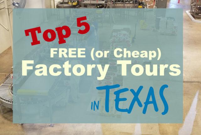 texas factory tours free