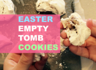 Easter Empty Tomb Cookie recipe and video