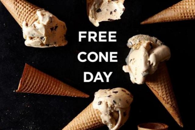 Häagen-Dazs FREE Ice Cream Cone