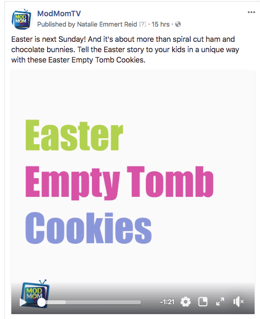 Easter Empty Tomb Cookies Video