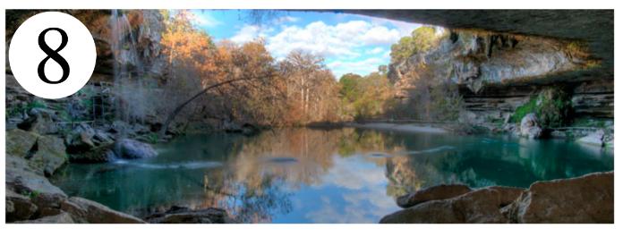 Weekend Getaways Near Dallas hamilton pool