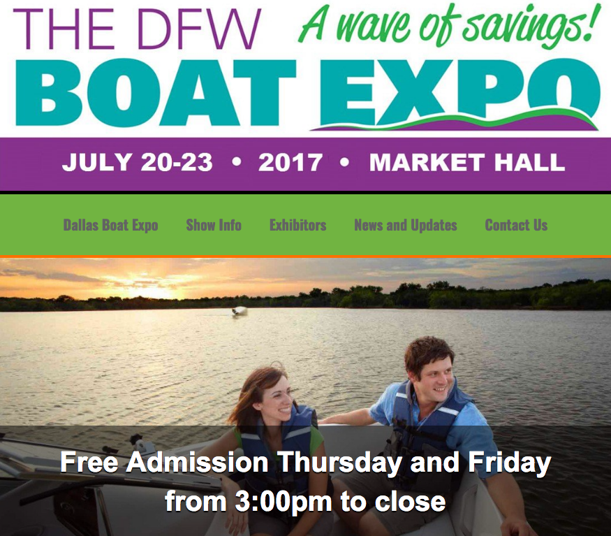 dfw boat show expo