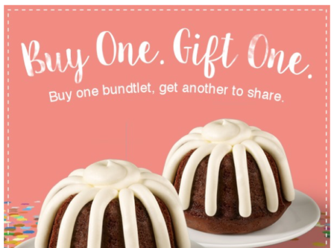 Nothing Bundt Cakes coupon discount