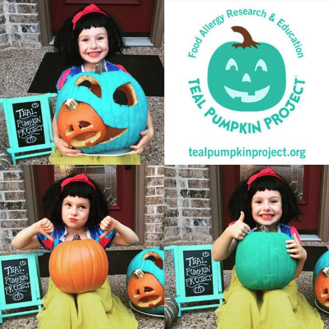what is the TEAL PUMPKIN PROJECT food allergies