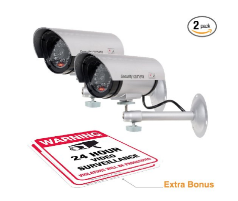 fake dummy security camera avoid package theft