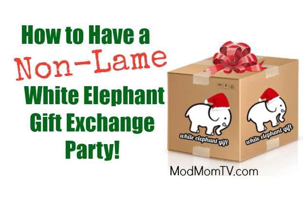 How to have a non lame white elephant gift exchange party modmomtv white elephant gift exchange party rules negle Choice Image