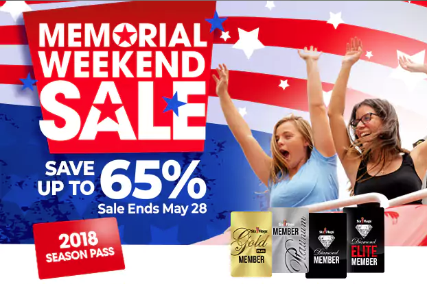 2018 Season Passes at Six Flags are 65% Off!! - ModMomTV