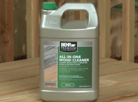Home Depot Behr Premium 1 Gal All In One Wood Cleaner