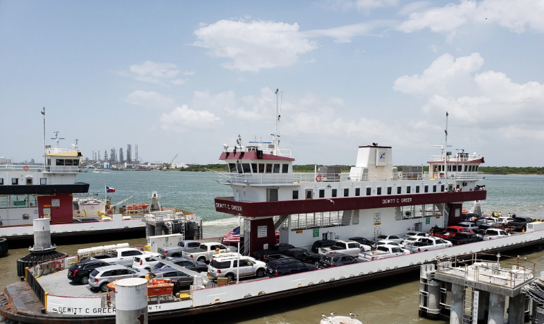 free galveston ferry ride