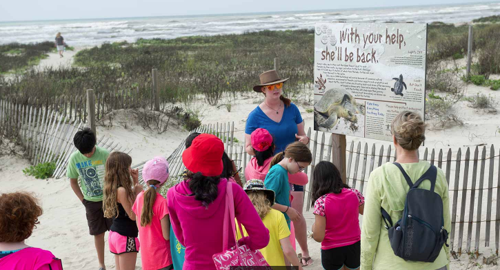 Galveston Island State Park guided tours