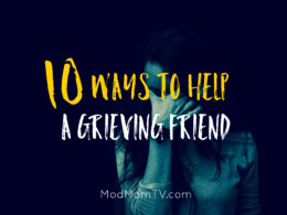 how to help grieving friend
